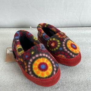 2/$20 ACORN Polar Moc Multi Color Slippers